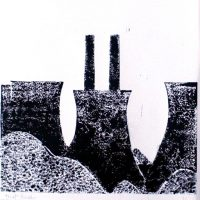 Cooling Towers by Janet Buckle