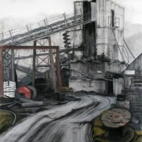 Hayroyds Colliery by Janet Buckle