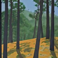 Indian forest by Janet Buckle