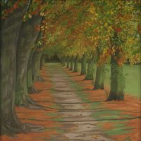 Autumn Trees by Janet Buckle