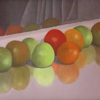 Ripening Tomatoes by Janet Buckle