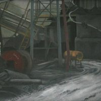 Corner of the Colliery by Janet Buckle