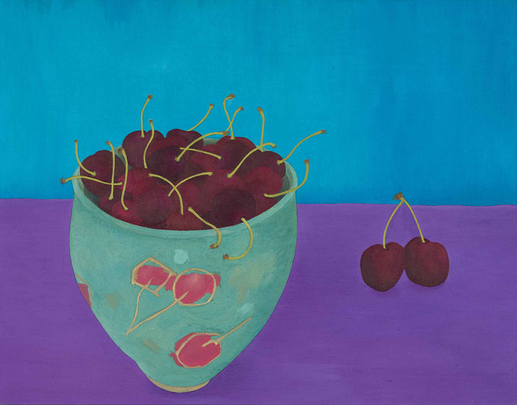 Cherries by Janet Buckle 6076