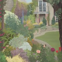 The Secret Garden by Janet Buckle 6029